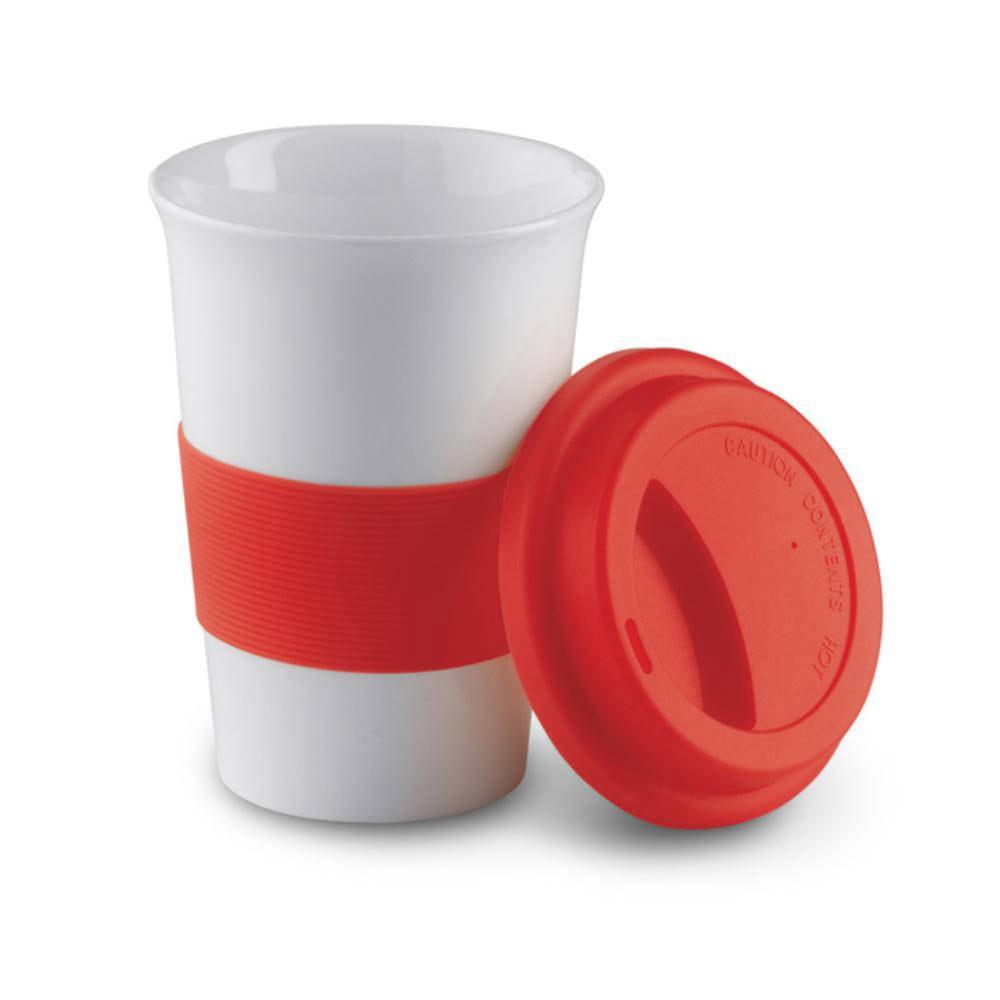 taza mug color tapa silicona ml hogar
