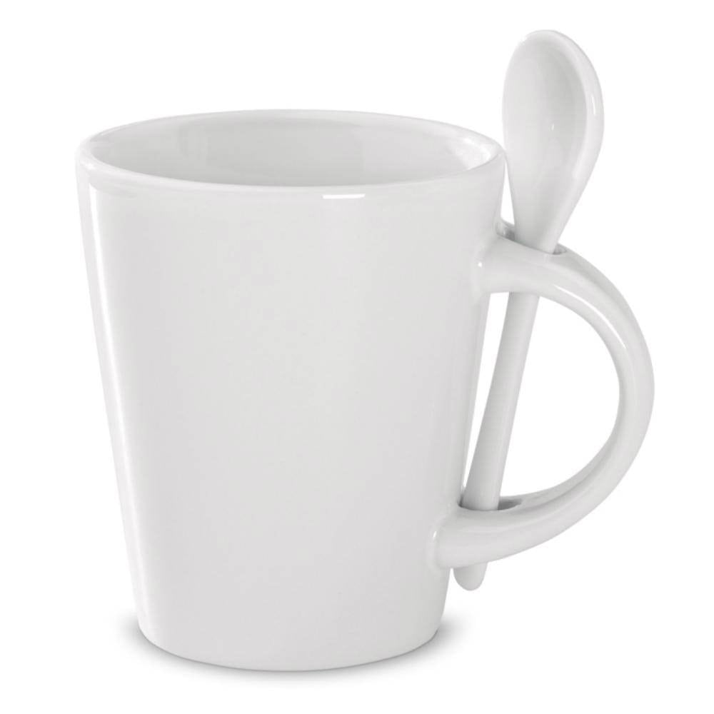 taza mug cuchara blanca sublimar ml