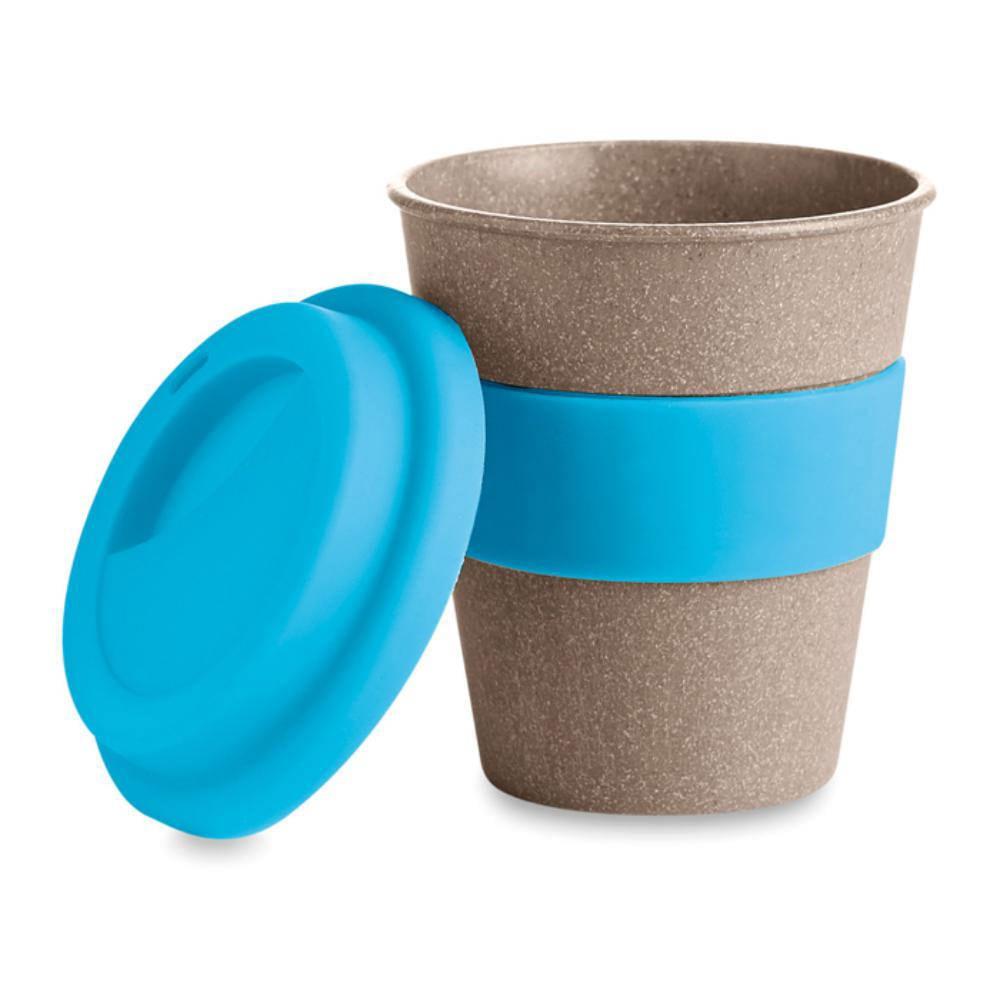 Vaso colorido /hecho/de fibra de bamb/ú ǀ Vajilla sostenible de bamb/ú 3 pcs/ ligero resistente/ǀ Taza/para refrescos bambuswald/© Taza para beber 330 ml apto para lavavajillas