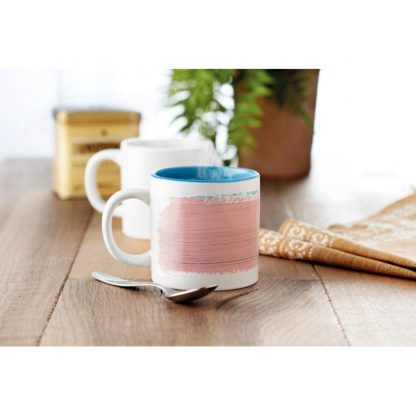 taza mug pequena sublimacion color interior