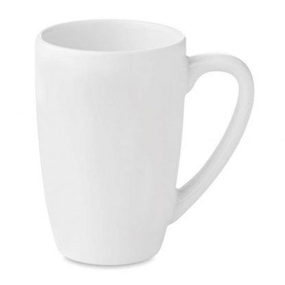 taza mug te ml blanca ceramica cajita