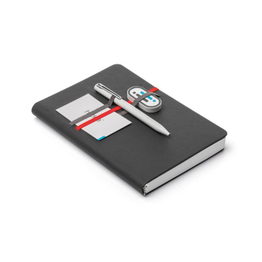 agenda polipiel soporte boligrafo personalizadas