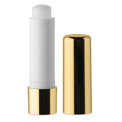 balsamo labial natural acabado metalico diseno