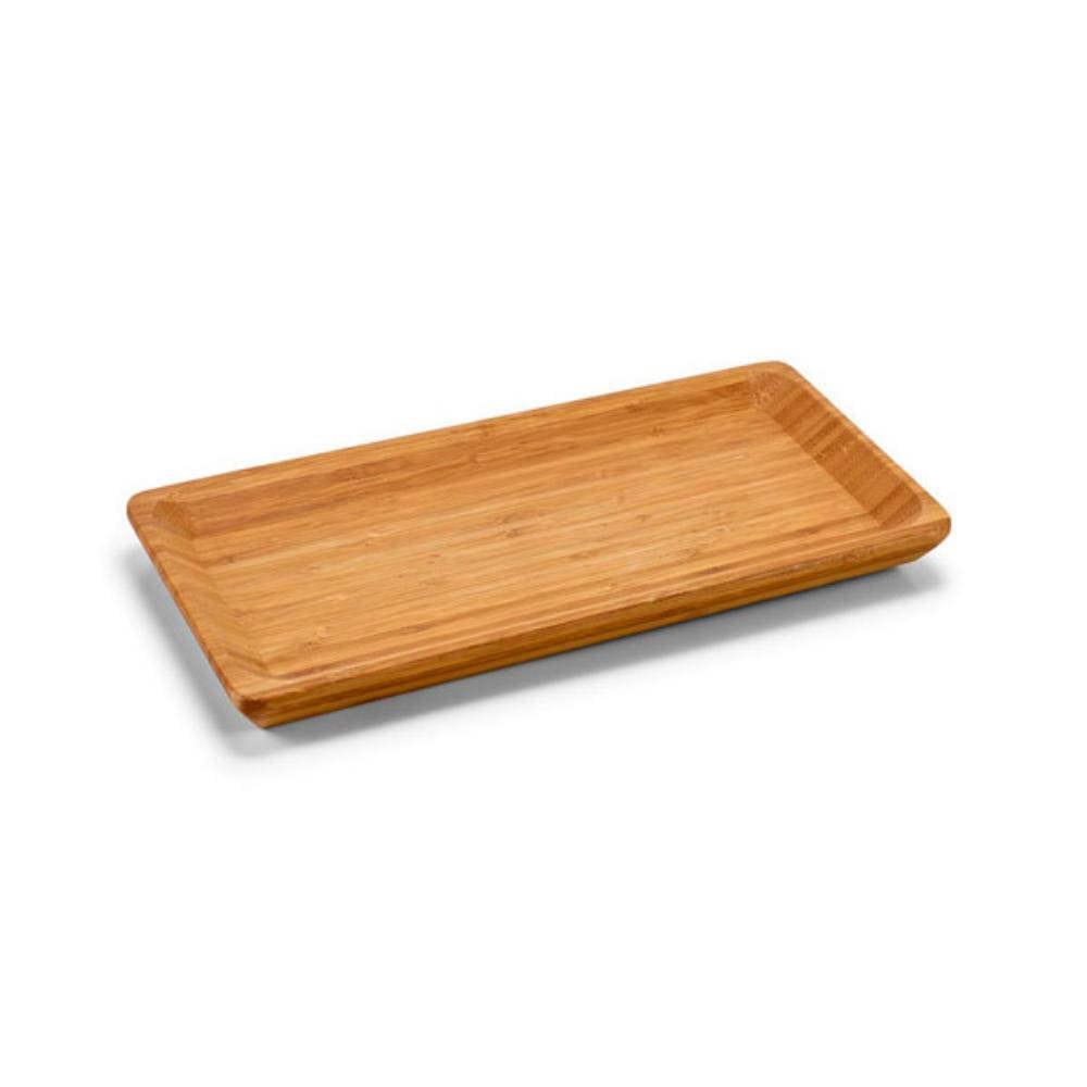 bandeja pequena madera bambu
