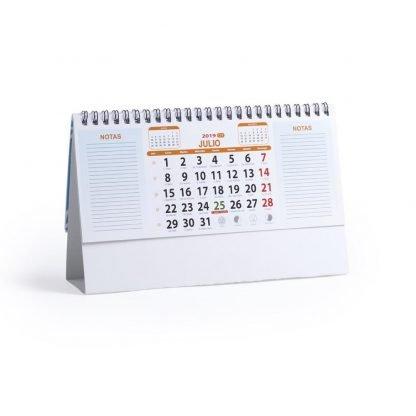 calendario sobremesa carton mini personalizado logo