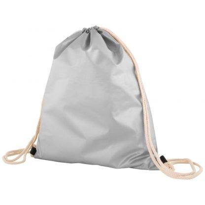 mochila bolsa publicitaria acabado mate metalizado