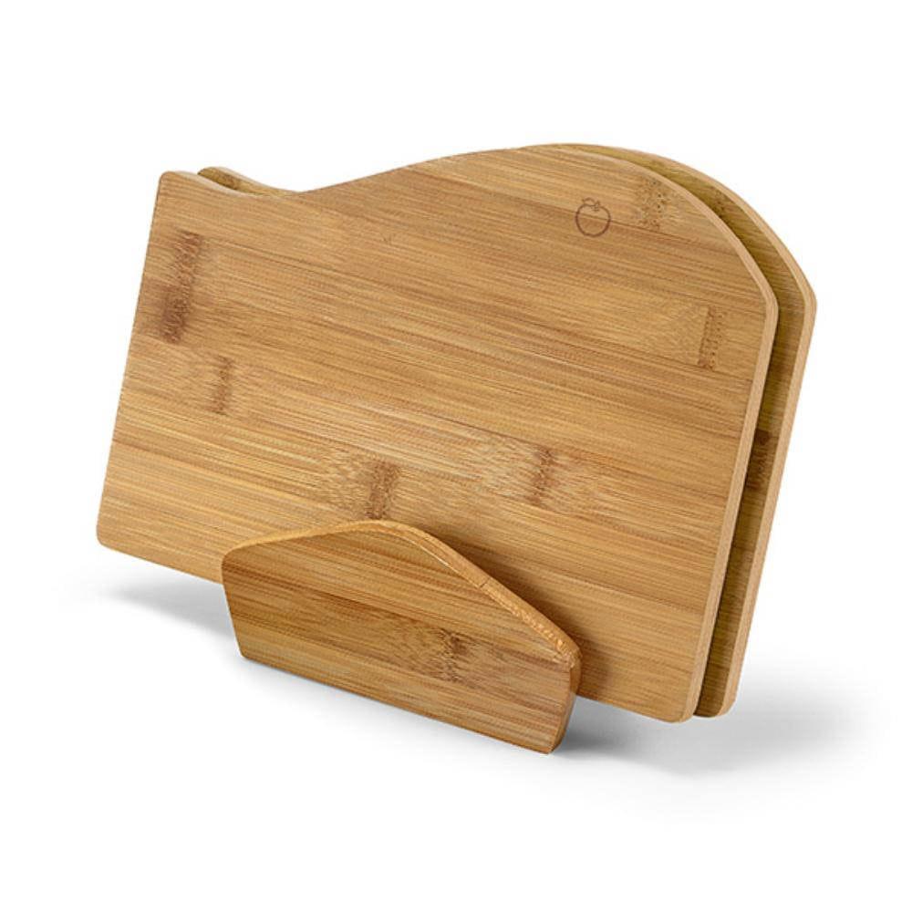set tablas cortar bambu tablas