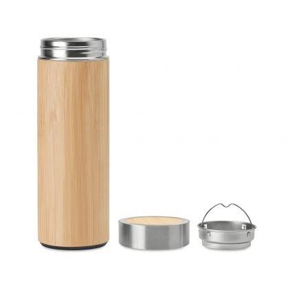 termo infusor te bambu calidad ecologico