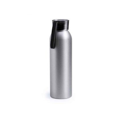 bidon aluminio ml tapon rosca diseño publicitario