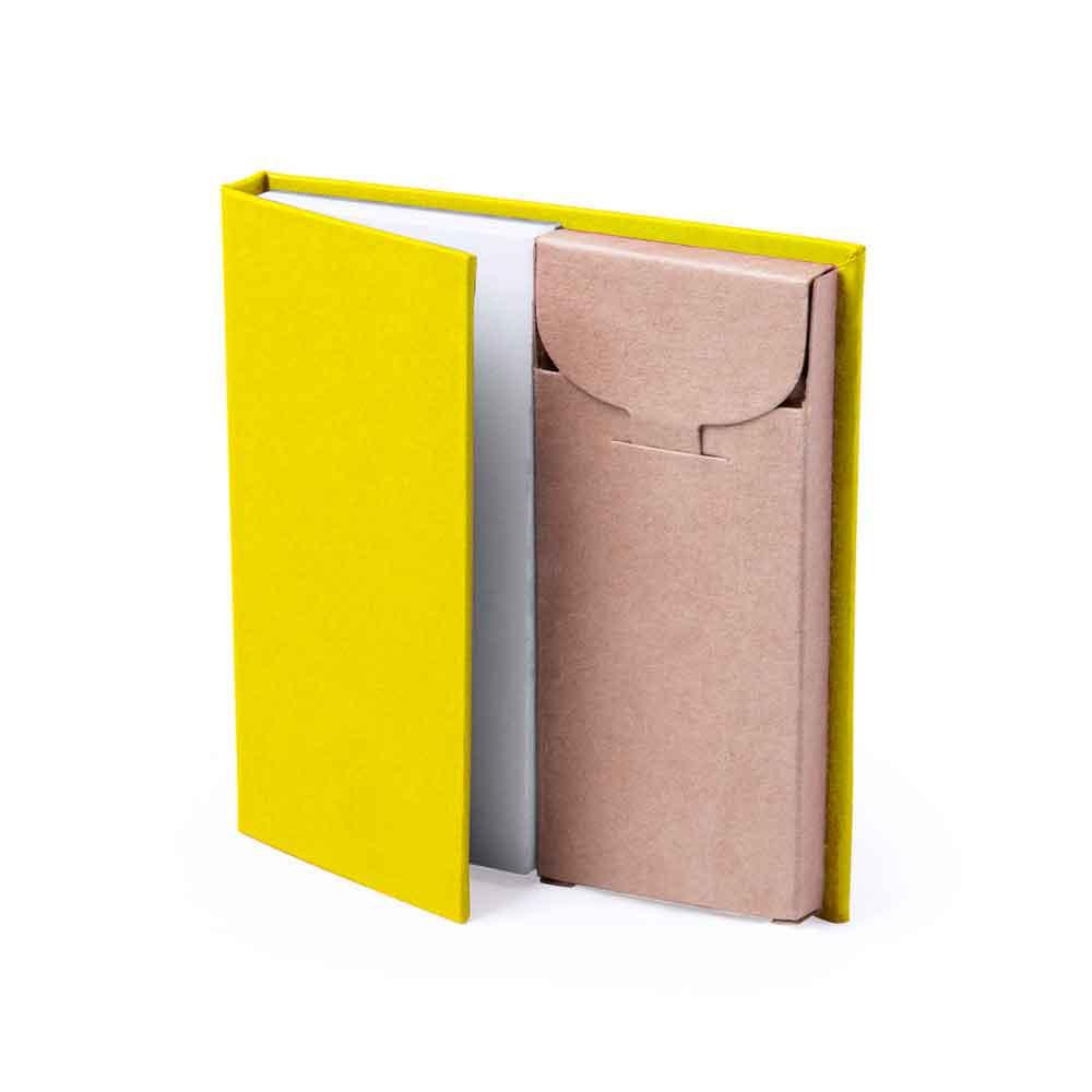 bloc notas lapiceros reciclado personalizable