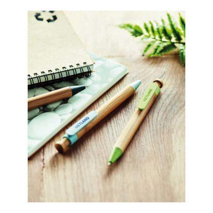 boligrafo bambu ecologico grabacion logo empresas