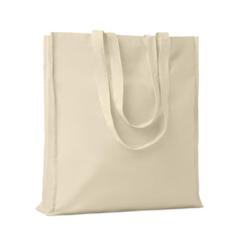bolsa compra algodon asas largas personalizacion