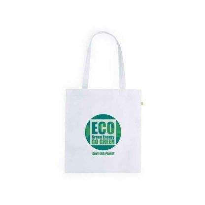 bolsa publicitaria ecologica fibra bambu logotipo