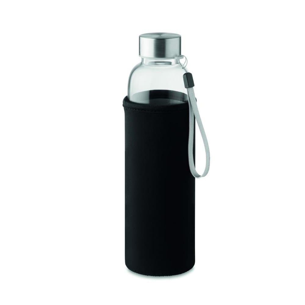 botella vidrio infusion te funda neopreno