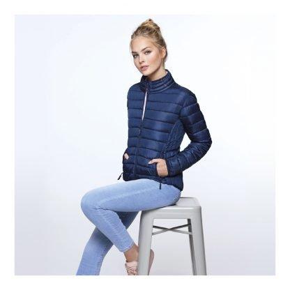chaqueta acolchada mujer personalizable