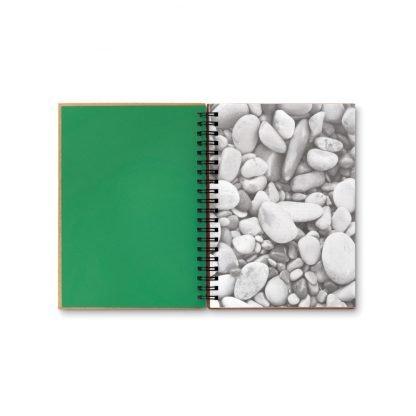 cuaderno anillas hojas grabacion logo regalos