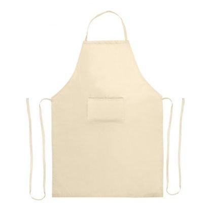 delantal algodon organico personalizable