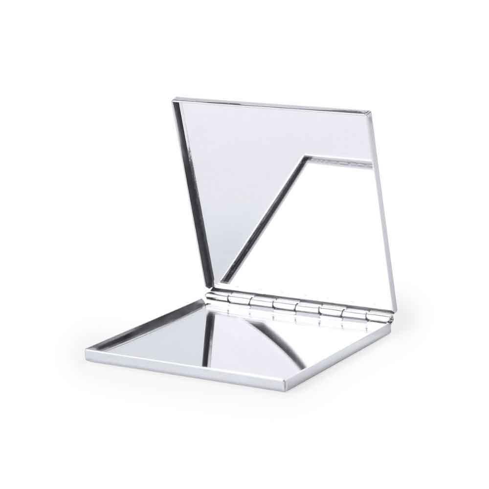 espejo doble aluminio logotipo empresas