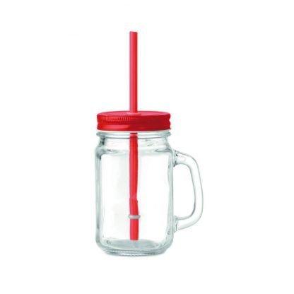 jarra cristal pajita cristal logo regalos