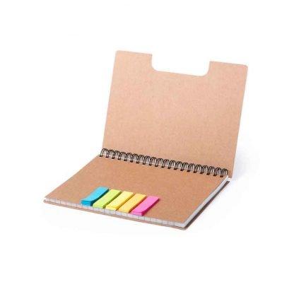 libreta carton reciclado publicitaria