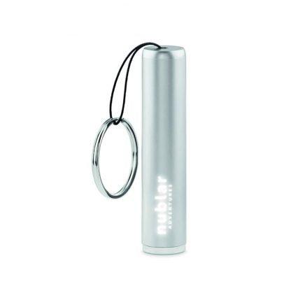 linterna luz led personalizacion logo laser