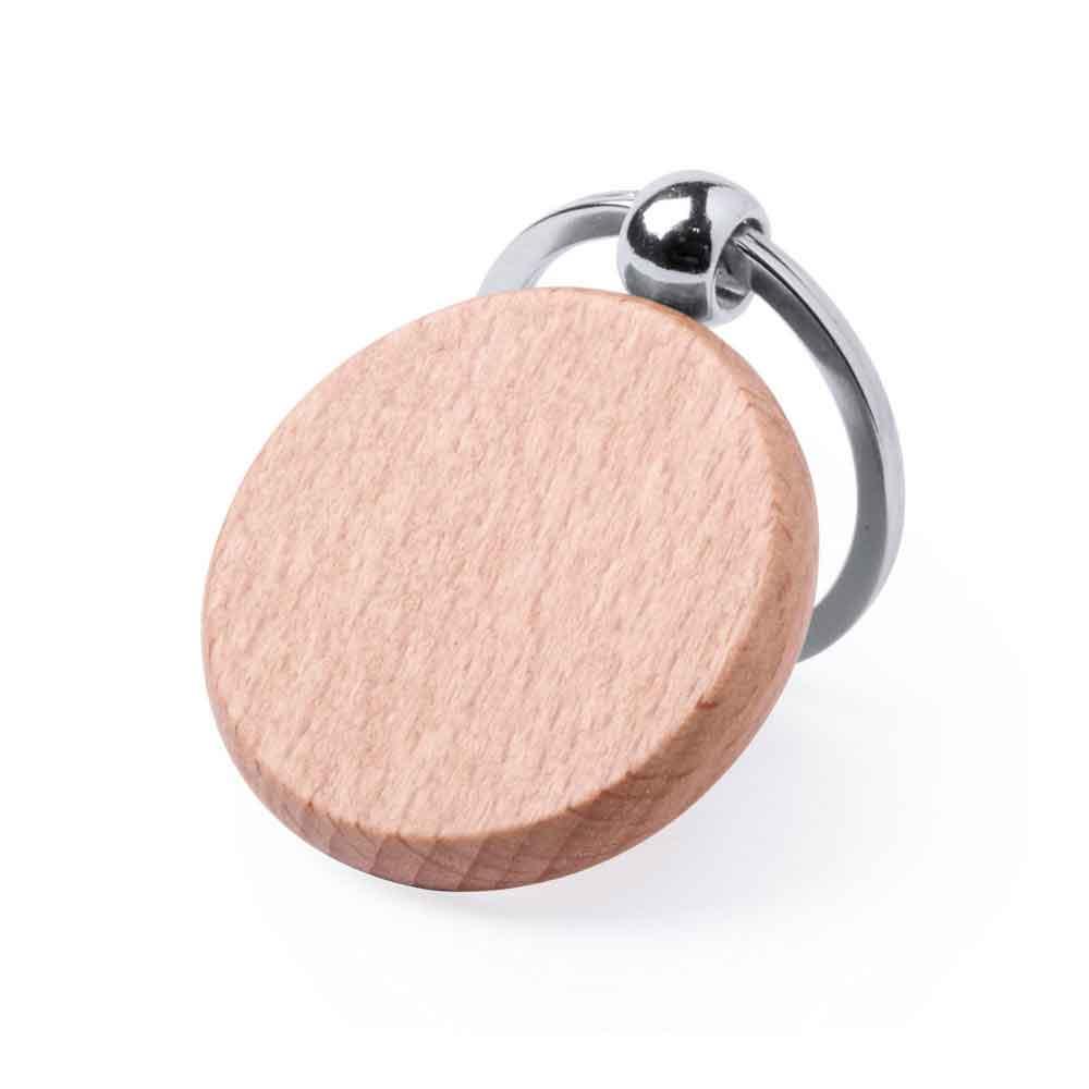llavero elegante madera personalizar