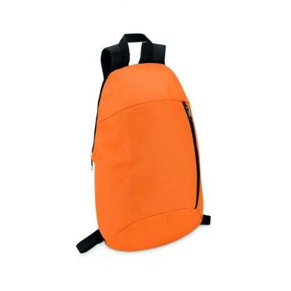mochila bolsillo delantero logo personalizar barato