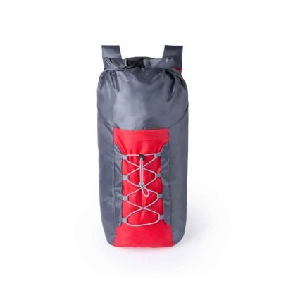 mochila plegable para imprimir logo