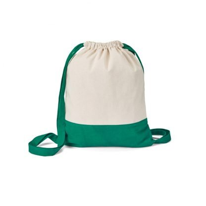 petate mochila algodon bicolor personalizar logo