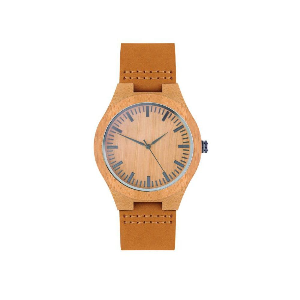 reloj pulsera correa piel logo