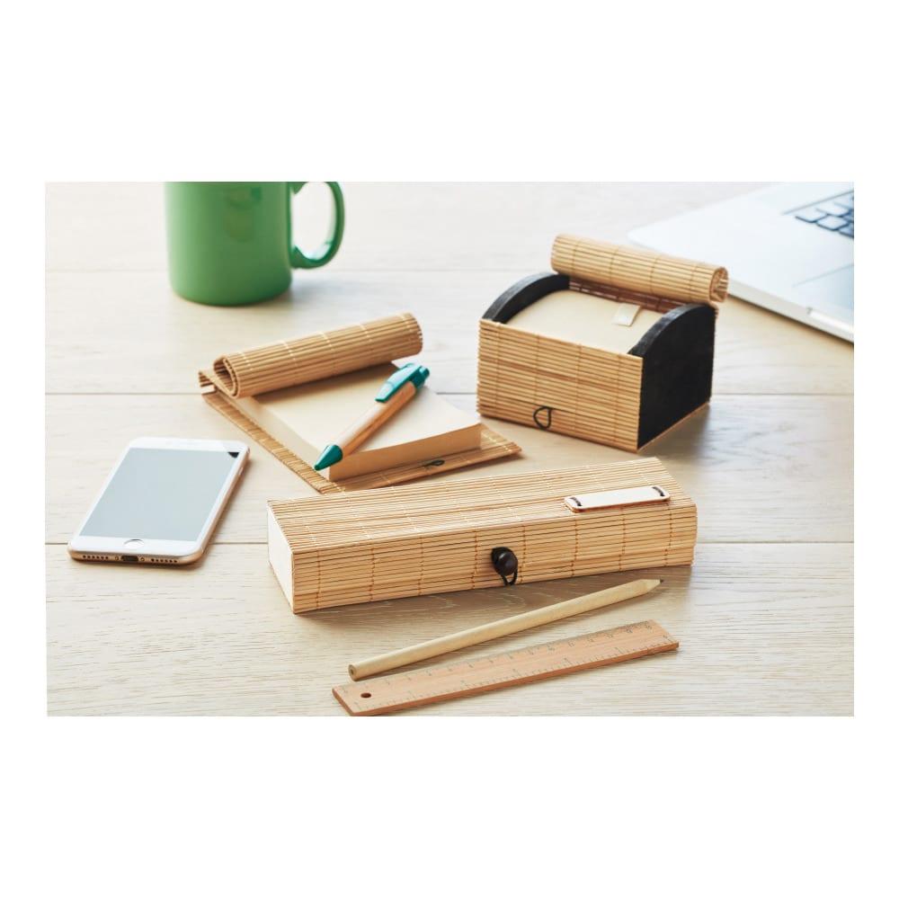 set escritorio bambu regalos empresas