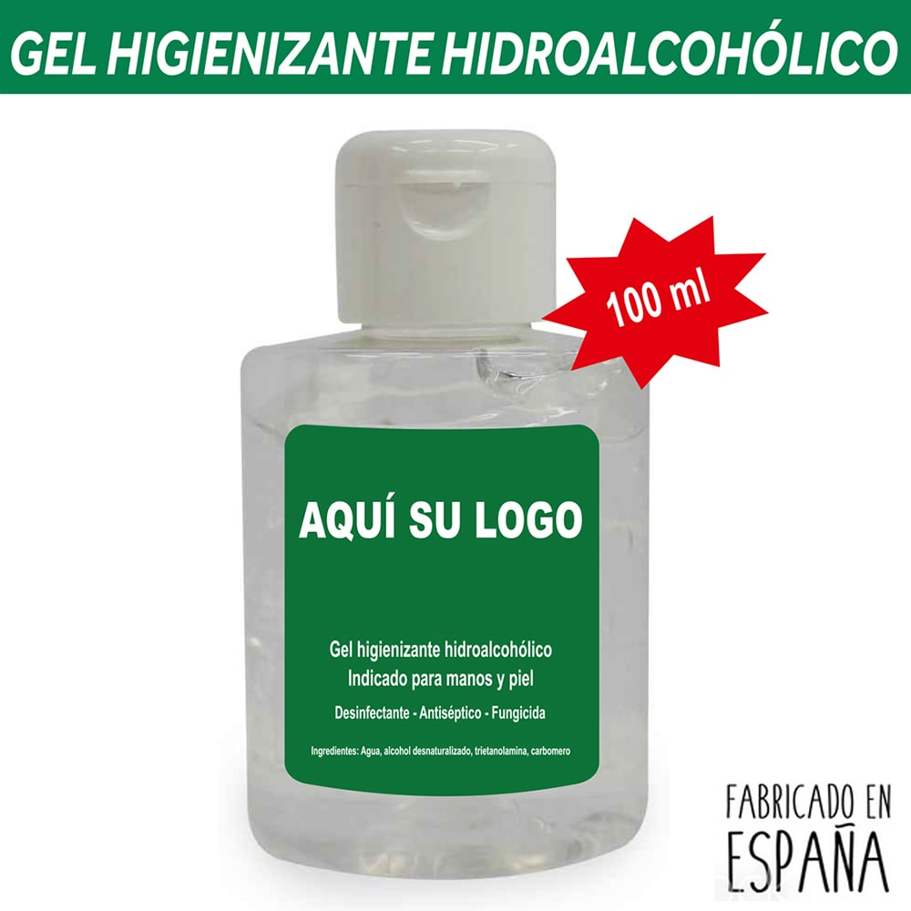 Gel desinfectante manos ml