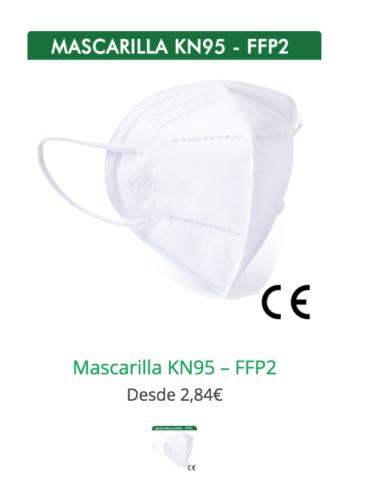 mascarilla ffp