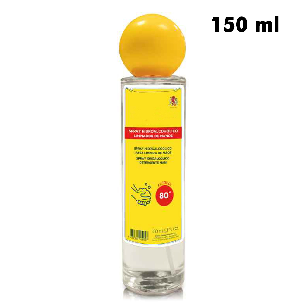 spray higienizante hidroalcoholico manos ml